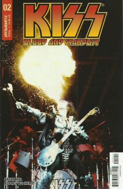 Dynamite Entertainment Kiss Blood Stardust #2 Comic Book [Photo Cover D Variant]