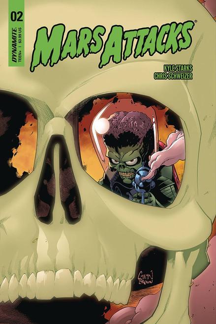 Dynamite Entertainment Mars Attacks #2 Comic Book [Ruairi Coleman Cover B Variant]
