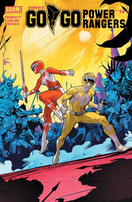 Boom Studios Go Go Power Rangers #14 Beyond The Grid Comic Book