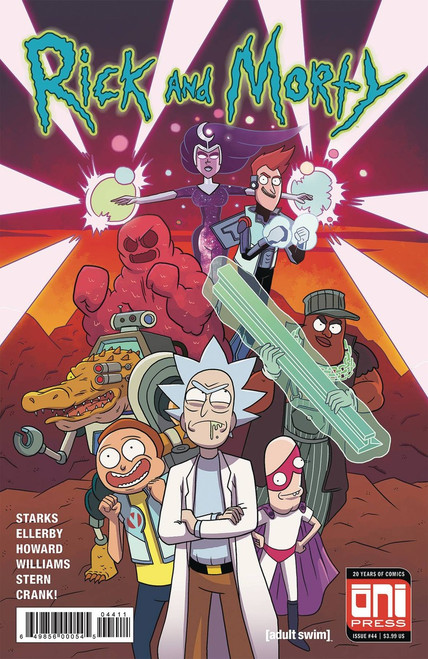 Oni Press Rick & Morty #44 Comic Book