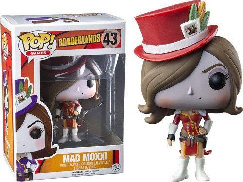 Funko Borderlands POP! Games Mad Moxxi Exclusive Vinyl Figure #43 [Red]