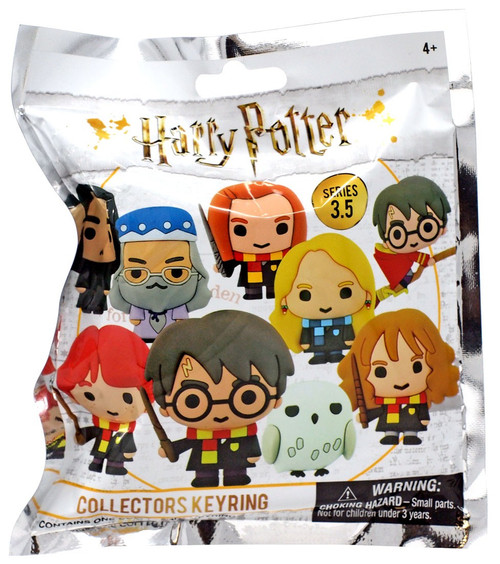 3D Figural Keyring Harry Potter Series 3.5 Mystery Pack