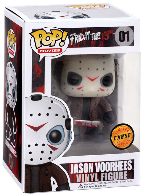 Funko Friday the 13th POP! Movies Jason Voorhees Vinyl Figure #01 [Glow Chase Version, Alternate Sticker]