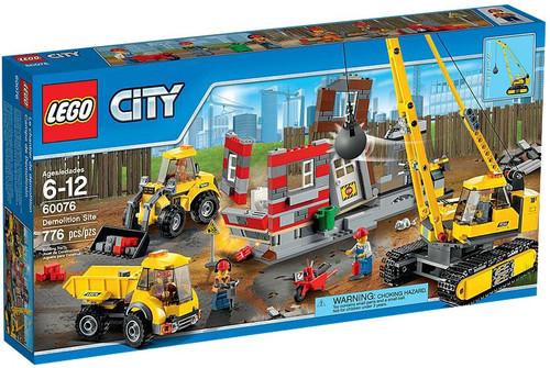 LEGO City Demolition Site Set #60076 [Damaged Package]