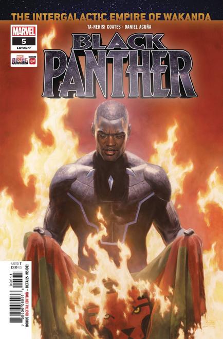Marvel Comics Black Panther #5 Comic Book