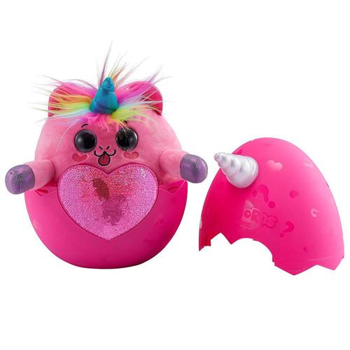 Rainbocorns Series 1 UNICORN Surprise Mystery Egg Plush [Pink Plush, White Horn, Pink Sequins]