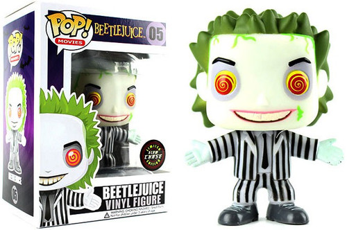 Funko POP! Movies Beetlejuice Vinyl Figure #05 [Glow, Chase Version]