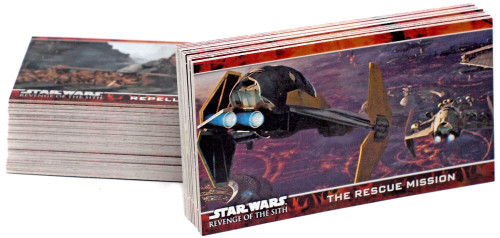 Star Wars Revenge of the Sith Widevision Trading Card Set