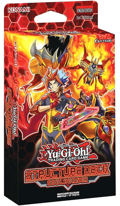 YuGiOh Trading Card Game Soulburner Structure Deck