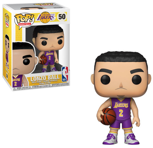 Funko NBA Los Angeles Lakers POP! Sports Basketball Lonzo Ball Vinyl Figure #50