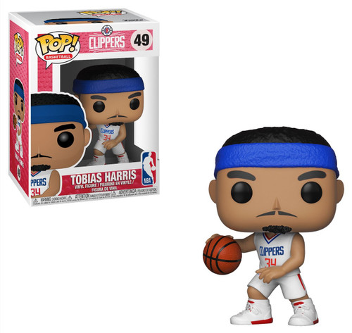 Funko NBA Los Angeles Clippers POP! Sports Basketball Tobias Harris Vinyl Figure #49