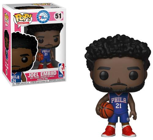 Funko NBA Philadelphia 76ers POP! Sports Basketball Joel Embiid Vinyl Figure #51