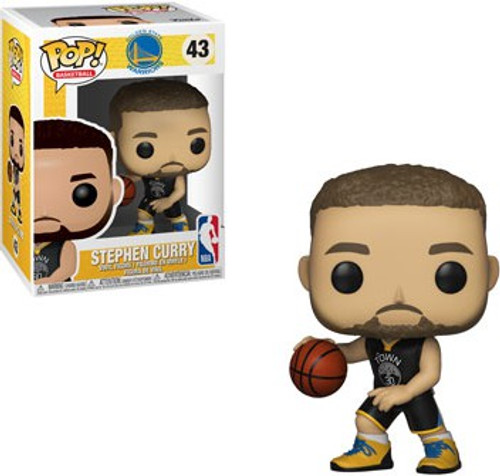 Funko NBA Golden State Warriors POP! Sports Basketball Stephen Curry Vinyl Figure #43