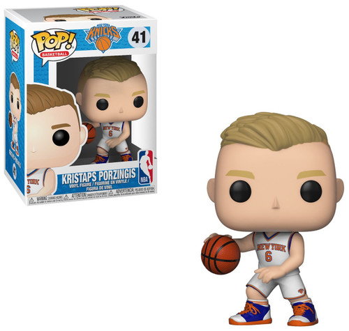 Funko NBA New York Knicks POP! Sports Basketball Kristaps Porzingis Vinyl Figure #41 [NY]
