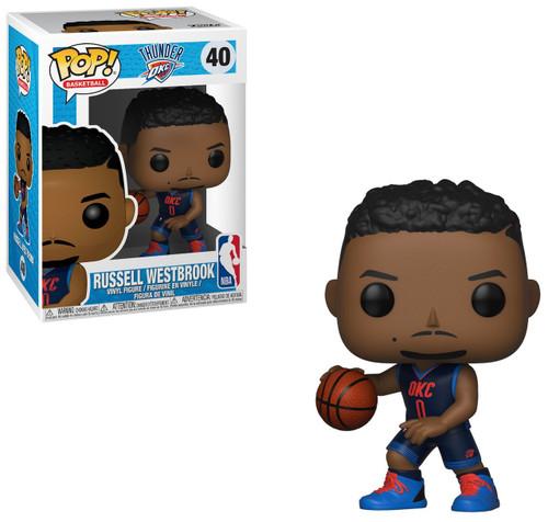 Funko NBA Oklahoma City Thunder POP! Sports Basketball Russell Westbrook Vinyl Figure #40 [OKC]
