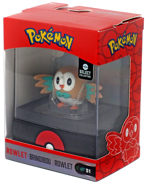 Pokemon Select Collection Series 1 Rowlet 2-Inch Mini Figure