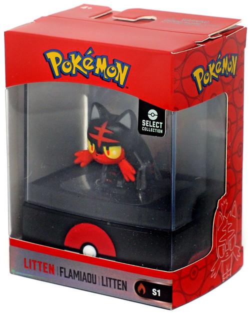 Pokemon Select Collection Series 1 Litten 2-Inch Mini Figure