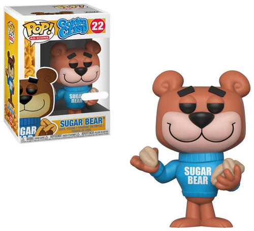 Funko Post POP! Ad Icons Sugar Bear Exclusive Vinyl Figure #22 [Golden Crisp, Damaged Package]