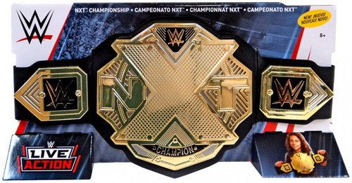 WWE Wrestling Live Action NXT Championship Championship Belt [Blue & White Packaging]
