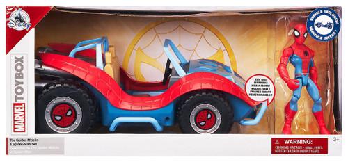 Disney Marvel Toybox Spider-Man & Spider-Mobile Exclusive Action Figure