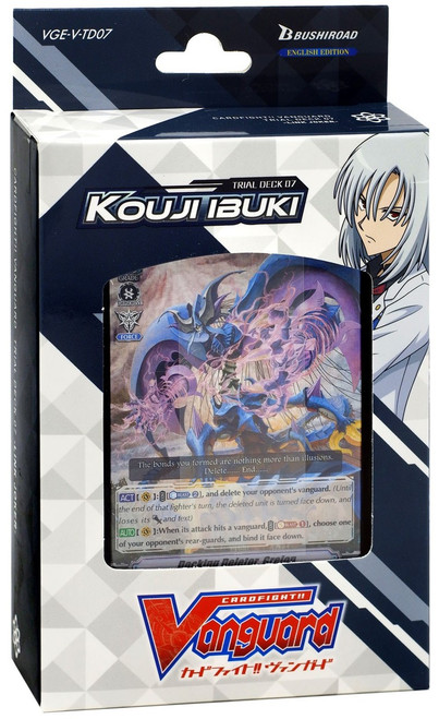 Cardfight Vanguard Trading Card Game Kouji Ibuki Trial Deck VGE-V-TD07