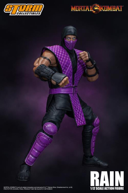 Mortal Kombat Rain Exclusive Action Figure