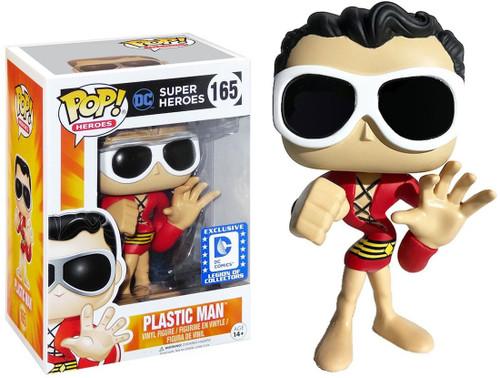 Funko DC POP! Heroes Plastic Man Exclusive Vinyl Figure #165