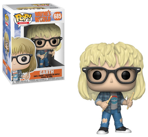 Funko Wayne's World POP! Movies Garth Vinyl Figure #685
