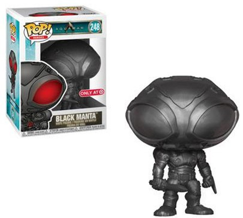Funko DC Aquaman Movie POP! Heroes Black Manta Exclusive Vinyl Figure #248 [Gun Metal]