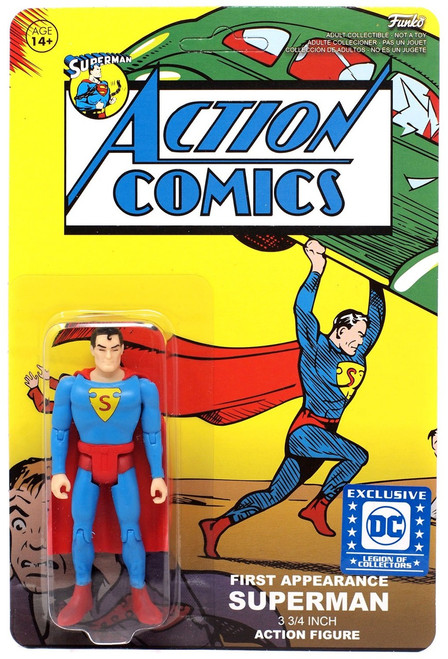 Funko DC First Appearance Superman Exclusive Action Figure