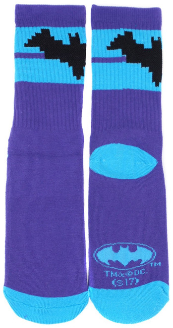 Funko DC Batman Exclusive Socks [Purple & Blue]