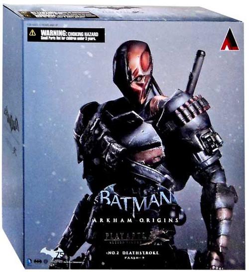 Batman Arkham Origins Play Arts Kai Deathstroke Action Figure