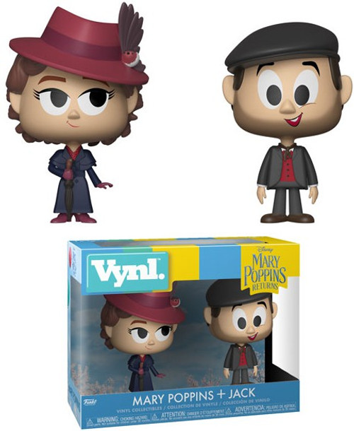 Funko Disney Mary Poppins Returns Vynl. Mary Poppins & Jack Vinyl Figure 2-Pack