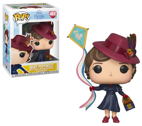 Funko Mary Poppins Returns POP! Disney Mary Poppins with Kite Vinyl Figure #468
