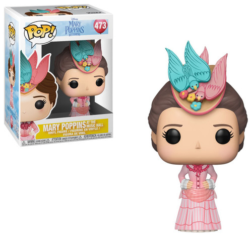Funko Mary Poppins Returns POP! Disney Mary Poppins Vinyl Figure #473 [Pink Dress]
