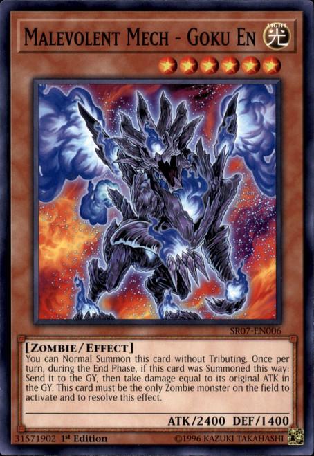 YuGiOh Structure Deck: Zombie Horde Common Malevolent Mech - Goku En SR07-EN006