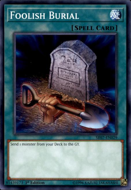 YuGiOh Structure Deck: Zombie Horde Common Foolish Burial SR07-EN029