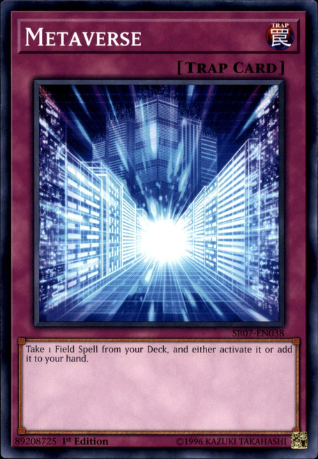 YuGiOh Structure Deck: Zombie Horde Common Metaverse SR07-EN038