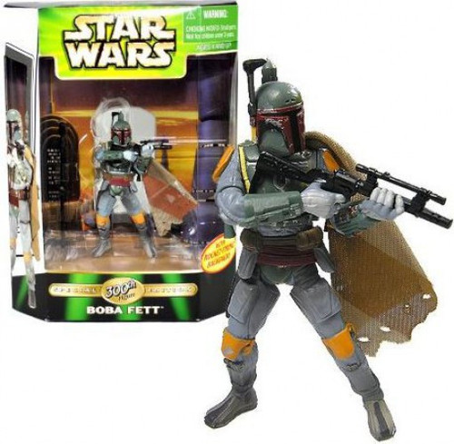 Star Wars Return of the Jedi Power of the Force POTF2 Deluxe Boba Fett Action Figure [300th Action Figure]