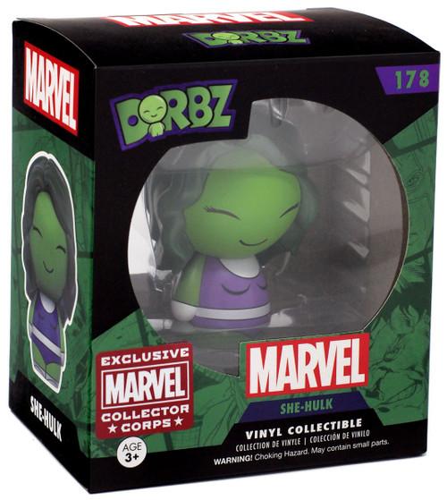 Funko Marvel Dorbz She-Hulk Exclusive Vinyl Bobble Head #178