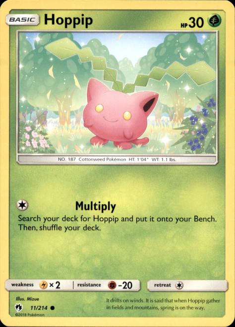 Pokemon Trading Card Game Lost Thunder Common Hoppip #11