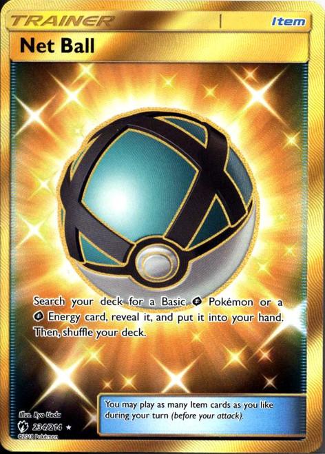 Pokemon Trading Card Game Lost Thunder Secret Rare Net Ball #234