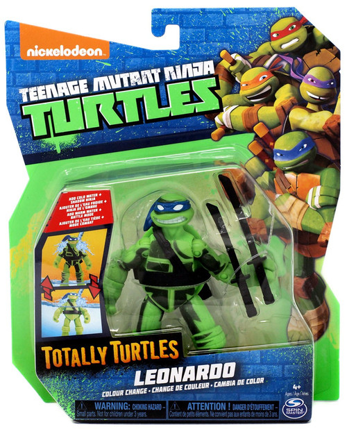 Teenage Mutant Ninja Turtles Nickelodeon Totally Turtles Leonardo Action Figure [Color Change]