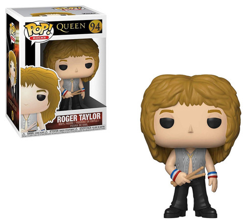 Funko Queen POP! Rocks Roger Taylor Vinyl Figure #94