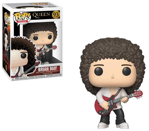 Funko Queen POP! Rocks Brian May Vinyl Figure #93