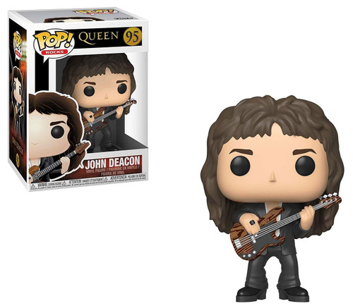 Funko Queen POP! Rocks John Deacon Vinyl Figure #95