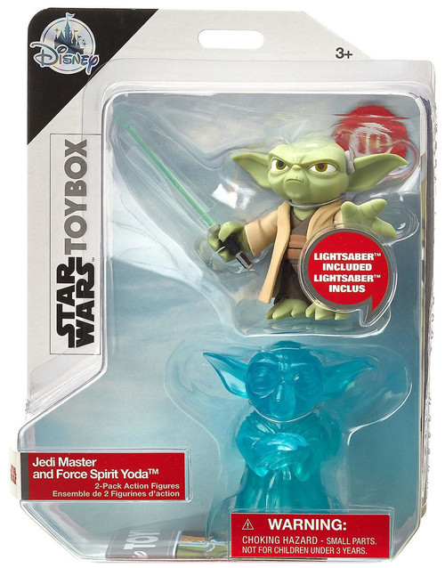 Disney Star Wars Toybox Jedi Master & Force Spirit Yoda Exclusive Action Figure