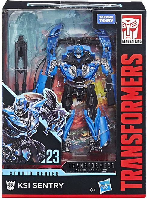 Transformers Generations Studio Series KSI Sentry Deluxe Action Figure #23