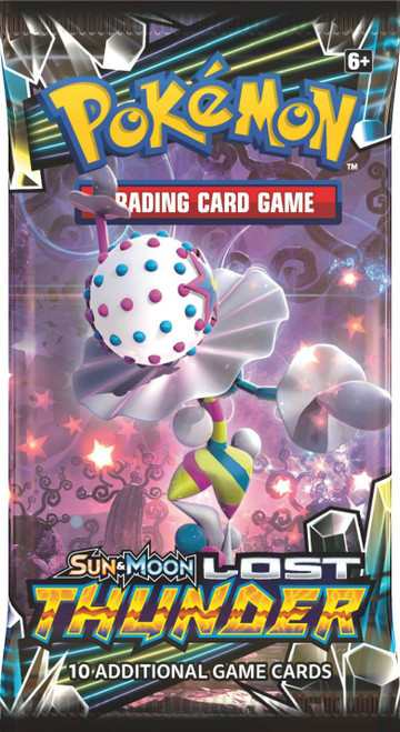 Pokemon Trading Card Game Sun & Moon Lost Thunder Booster Pack [10 Cards]