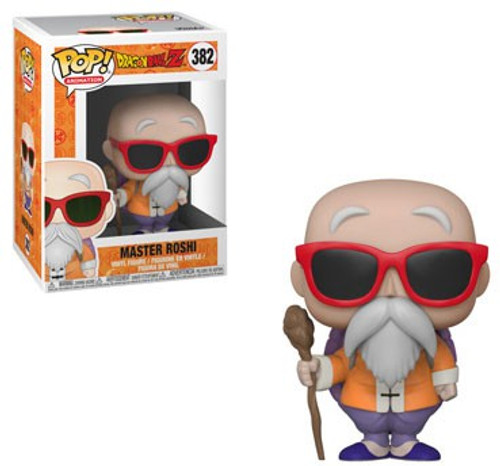 Funko Dragon Ball Z POP! Animation Master Roshi Vinyl Figure #382 [Holding Staff, Damaged Package]
